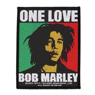 Patch Aufnäher Bob Marley - One Love - RAZAMATAZ, RAZAMATAZ, Bob Marley