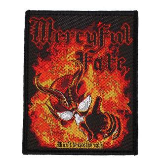 Patch Aufnäher Mercyful Fate - Don't Break The Oath - RAZAMATAZ, RAZAMATAZ, Mercyful Fate