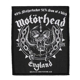 Patch Aufnäher Motörhead - Ball & Chain - RAZAMATAZ, RAZAMATAZ, Motörhead