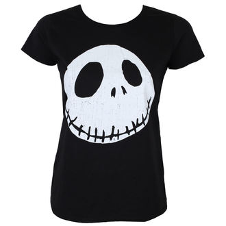 Damen T-Shirt Film The Nightmare Before Christmas - CRACKED FACE - PLASTIC HEAD, NIGHTMARE BEFORE CHRISTMAS, Nightmare Before Christmas