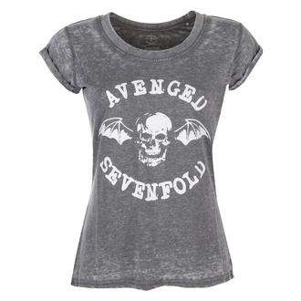 Damen T-Shirt Metal Avenged Sevenfold - Deathbat - ROCK OFF, ROCK OFF, Avenged Sevenfold