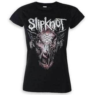 Damen T-Shirt Metal Slipknot - Infected Goat - ROCK OFF, ROCK OFF, Slipknot