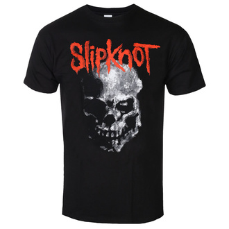 Herren T-Shirt Slipknot - Gray Chapter Skull - BL - ROCK OFF, ROCK OFF, Slipknot