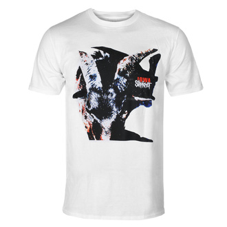 Herren T-Shirt Slipknot - Iowa - Goat Shadow - WHT - ROCK OFF, ROCK OFF, Slipknot