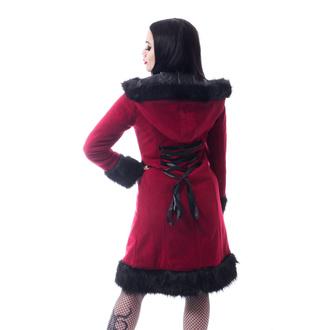 Damen Mantel POIZEN INDUSTRIES - DARK MASE - ROT, POIZEN INDUSTRIES