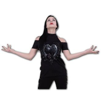 Damen T-Shirt - RAVEN HEART - SPIRAL, SPIRAL