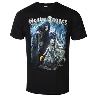 Herren T-Shirt Metal Grave Digger - The Living Dead - NAPALM RECORDS, NAPALM RECORDS, Grave Digger