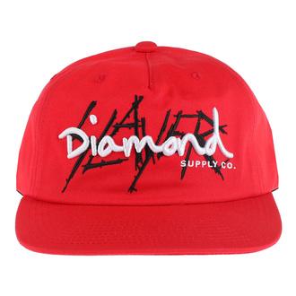 Kappe Cap SLAYER - DIAMOND - Unstrukturiert - Rot, DIAMOND, Slayer