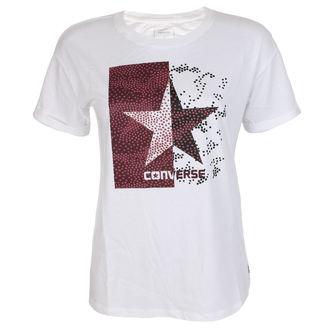 Damen T-Shirt Street - Dot Camo Star Feasy - CONVERSE, CONVERSE