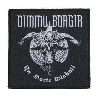 Patch Aufnäher Dimmu Borgir - In Sorte Dlaboll - RAZAMATAZ, RAZAMATAZ, Dimmu Borgir