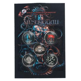 Ansteckbuttons Meshuggah - 1Aolent Sleep Of Reason, RAZAMATAZ, Meshuggah