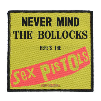Patch Aufnäher Sex Pistols - Nevermind The Bollocks - RAZAMATAZ, RAZAMATAZ, Sex Pistols