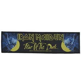 Patch Aufnäher Iron Maiden - Fear 01 The Dark - RAZAMATAZ, RAZAMATAZ, Iron Maiden