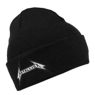 Beanie Mütze Metallica - First Logo - Schwarz Black Cuff, NNM, Metallica