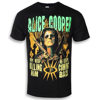 Herren T-Shirt Metal Alice Cooper - Graveyard - ROCK OFF, ROCK OFF, Alice Cooper
