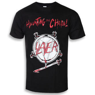 Herren T-Shirt Metal Slayer - Haunting The Chapel - ROCK OFF, ROCK OFF, Slayer