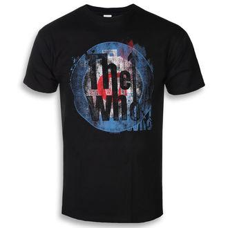Herren T-Shirt Metal Who - Target Texture - ROCK OFF, ROCK OFF, Who