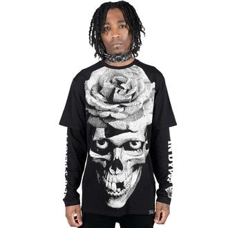 Unisex T-Shirt mit langen Ärmeln KILLSTAR - Dead Rose Double, KILLSTAR