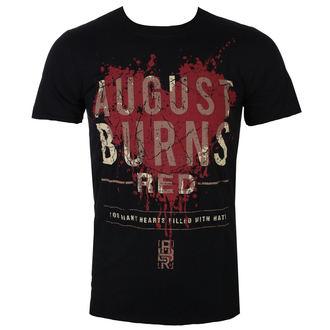 Herren T-Shirt Metal August Burns Red - Heart Filled - ROCK OFF, ROCK OFF, August Burns Red