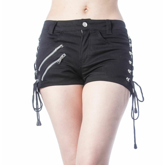 Damen Shorts VIXXSIN - DINA - SCHWARZ, VIXXSIN