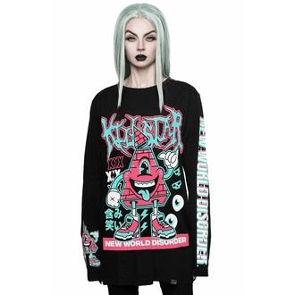 Unisex lange Ärmel T-Shirt KILLSTAR - Disorder, KILLSTAR