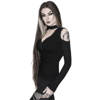 Damen Longsleeve KILLSTAR - Downward Spiral Cold-Shoulder Top, KILLSTAR