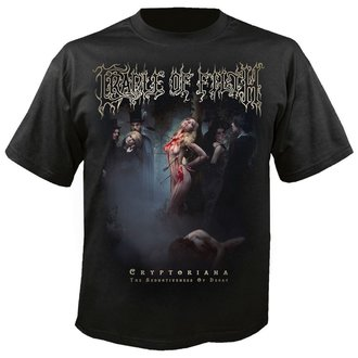 Herren T-Shirt Metal Cradle of Filth - Exquisite torments await - NUCLEAR BLAST, NUCLEAR BLAST, Cradle of Filth