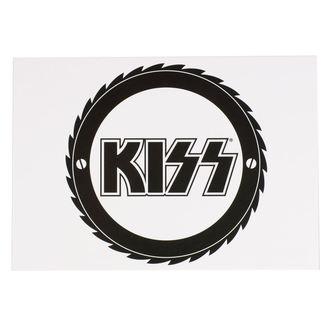 Postkarte KISS - CUTTER - ROCK OFF, ROCK OFF, Kiss