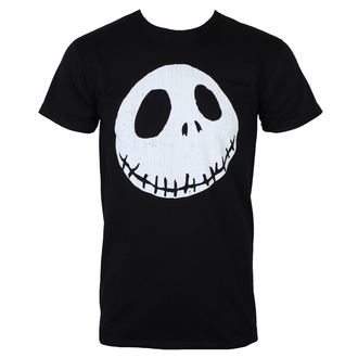 Herren T-Shirt Film The Nightmare Before Christmas - CRACKED FACE - PLASTIC HEAD, NIGHTMARE BEFORE CHRISTMAS, Nightmare Before Christmas