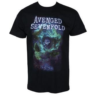 Herren T-Shirt Metal Avenged Sevenfold - SPACE FACE - PLASTIC HEAD, PLASTIC HEAD, Avenged Sevenfold