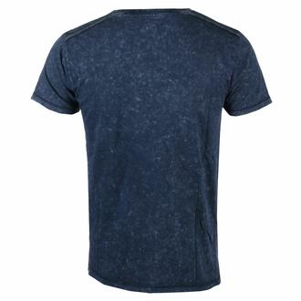 Herren T-Shirt Avenged Sevenfold - Logo Snow Wash - MARINE - ROCK OFF, ROCK OFF, Avenged Sevenfold