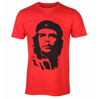 Herren T-Shirt Che Guevara - Black on red - ROT - ROCK OFF, ROCK OFF, Che Guevara