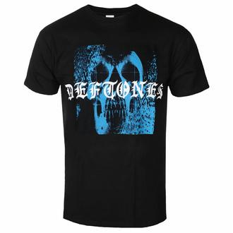 Herren T-Shirt Deftones - Static Skull - Schwarz - ROCK OFF, ROCK OFF, Deftones