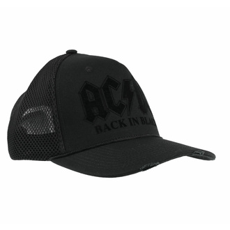 Cap Kappe AC/DC - BACK IN BLACK - AMPLIFIED, AMPLIFIED, AC-DC