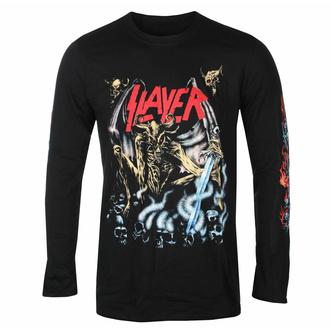 Herren Longsleeve Slayer - Airbrush Demon - Schwarz - ROCK OFF, ROCK OFF, Slayer