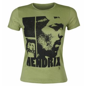 Frauen T-Shirt Jimi Hendrix - Let Me Live Scoop - KHAKI, ROCK OFF, Jimi Hendrix