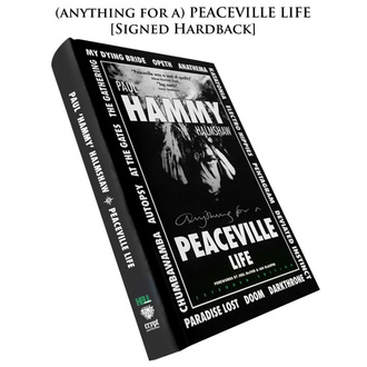 Book Peaceville Life (signed hardback), CULT NEVER DIE