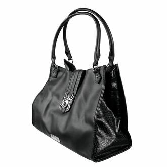 Handtasche (Tasche) KILLSTAR - Schwarze Witwe - Schwarz, KILLSTAR