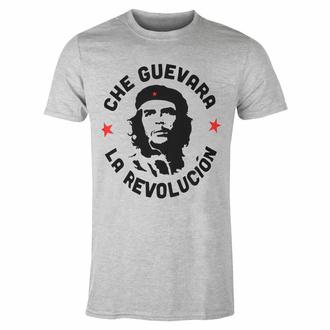 Herren T-Shirt Che Guevara -Circle Logo - GRAU - ROCK OFF, ROCK OFF, Che Guevara