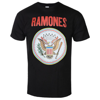 Herren T-Shirt RAMONES - RED SEAL - SCHWARZ - GOT TO HAVE IT, GOT TO HAVE IT, Ramones
