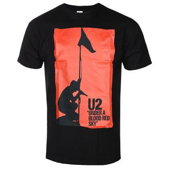 Herren T-Shirt U2 - UNDER ABLOOD RED SKY - SCHWARZ - GOT TO HAVE IT, GOT TO HAVE IT, U2
