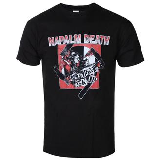 Herren T-Shirt Napalm Death - Nazi Punks, RAZAMATAZ, Napalm Death