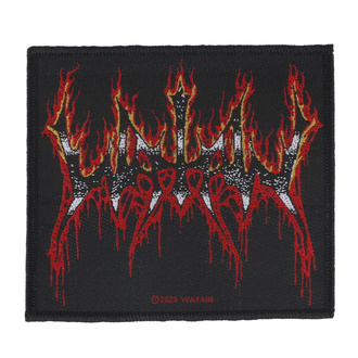 Aufnäher Patch Watain - Flaming Logo - RAZAMATAZ, RAZAMATAZ, Watain