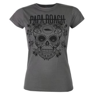 Damen T-Shirt Metal Papa Roach - Dia De La Roach - KINGS ROAD, KINGS ROAD, Papa Roach