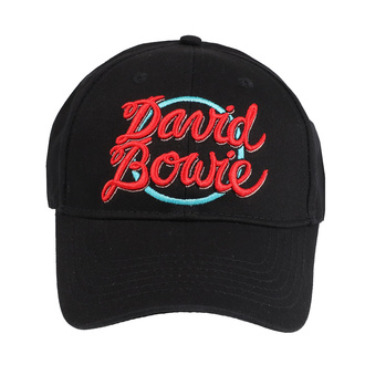 Kappe Cap David Bowie - 1978 World Tour Logo - ROCK OFF, ROCK OFF, David Bowie