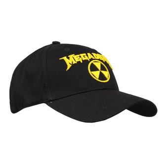 Kappe Megadeth - Hazard Logo - ROCK OFF, ROCK OFF, Megadeth