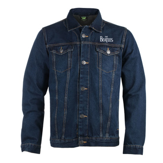 Herren Jacke Jeansjacke Beatles - Drum Logo - DENIM - ROCK OFF, ROCK OFF, Beatles