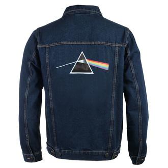 Herren Jacke Jeansjacke Pink Floyd - DSOTM Prism - DENIM - ROCK OFF, ROCK OFF, Pink Floyd