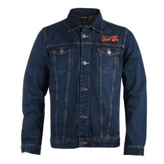 Herren Jacke Jeansjacke AC / DC - About To Rock - DENIM - ROCK OFF, ROCK OFF, AC-DC