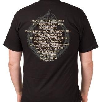 Herren T-Shirt Metal Cattle Decapitation - Anthropocene Extinction - INDIEMERCH, INDIEMERCH, Cattle Decapitation